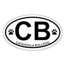 Catahoula Bulldog Decal