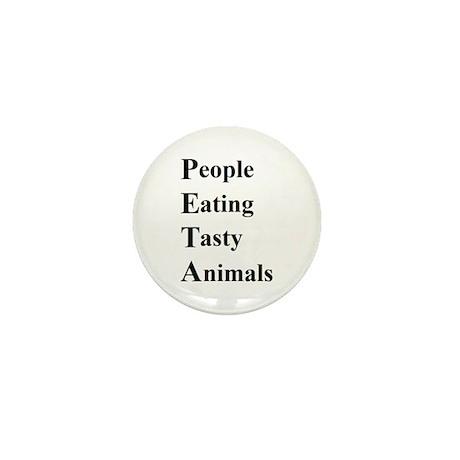 Tasty PETA Mini Button