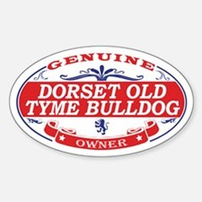Dorset Old Tyme Bulldog Decal