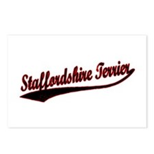 Staffordshire Terrier Varsity Postcards (Package o