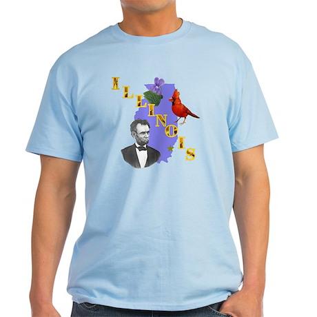 State of Illinois Light T-Shirt
