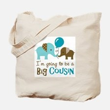 Big Cousin to be - Elephant Tote Bag