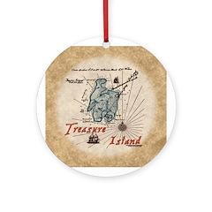 Treasure Island Ornament (Round)