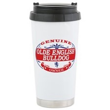 Olde English Bulldog Owner Travel Mug