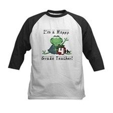 Hoppy 4th Grade Teacher Tee