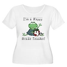 Hoppy 4th Grade Teacher T-Shirt