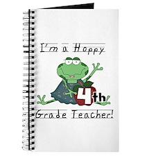 Hoppy 4th Grade Teacher Journal