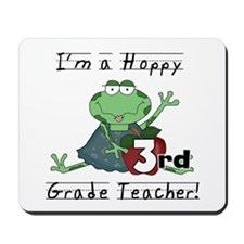 Hoppy 3rd Grade Teacher Mousepad