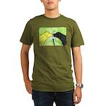Labs Like to Share Organic Men's T-Shirt (dark)