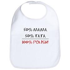 100% Polish Bib