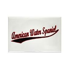 American Water Spaniel Varsity Rectangle Magnet