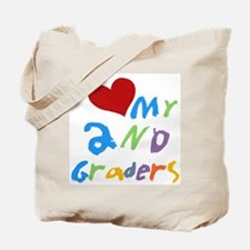 I Love My 2nd Graders Tote Bag