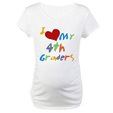 I Love My 4th Graders Shirt