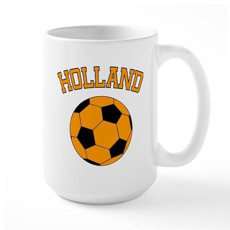Holland Voetbal Large Mug