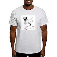 Anatolian Shepherd Ash Grey T-Shirt