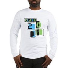 CLASS 2011 Geometrics Long Sleeve T-Shirt
