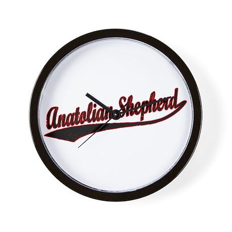 Anatolian Shepherd Varsity Wall Clock