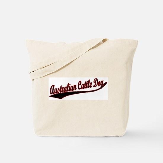 Australian Cattle Dog Varsity Tote Bag