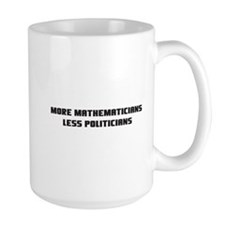 MoreMathematicians_white-3in Mugs