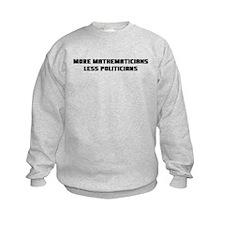 Cool Math politician Sweatshirt