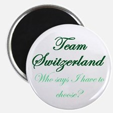 Team Switzerland Magnet