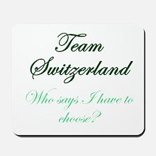 Team Switzerland Mousepad