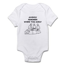 doctor joke Infant Bodysuit