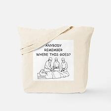 doctor joke Tote Bag