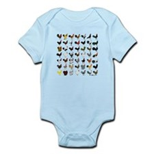 49 Roosters Infant Bodysuit