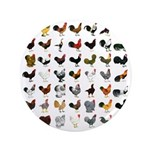 """49 Roosters 3.5"""" Button (100 pack)"""
