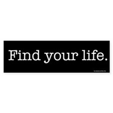 Find Life Bumper