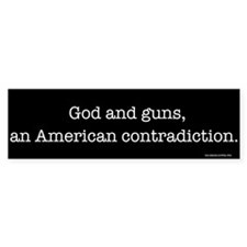 God and guns Bumper