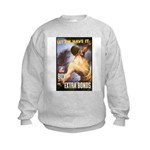 Let Em Have It (Front) Kids Sweatshirt