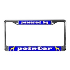 Powered by Pointer License Plate Frame