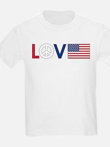 Love Peace America T-Shirt