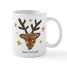 Born To Lead Reindeer Mug
