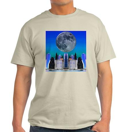 NYC Blue Moon Light T-Shirt