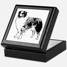 Australian Shepherd Keepsake Box