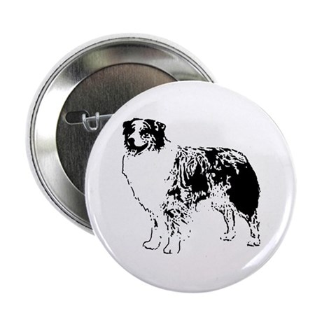 Australian Shepherd Button