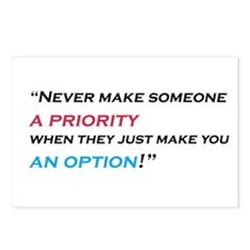 priority-option Postcards (Package of 8)