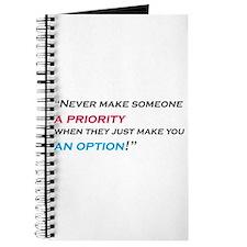 priority-option Journal