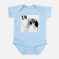 Australian Shepherd Infant Creeper