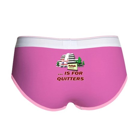 Rehab For Quitters Women's Boy Brief