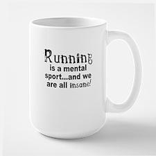 Running is a mental sport Mug