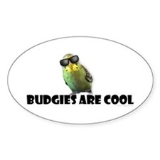 Budgies are Cool Decal