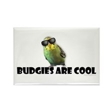 Budgies are Cool Rectangle Magnet