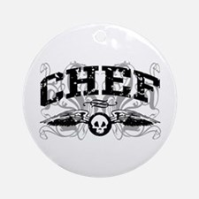 Chef Ornament (Round)