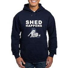 Shed Happens Hoodie (Black)