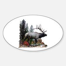 Elkaholic Sticker (Oval)