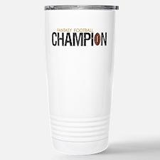 Fantasy League Champion Stainless Steel Travel Mug